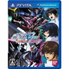 Used PS Vita Mobile Suit Gundam Seed Battle Destiny Japan import