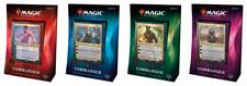 Magic The Gathering comandante 2018 Conjunto de 4 Mazos-Nuevo Y Sellado!! envíos gratis de prioridad!