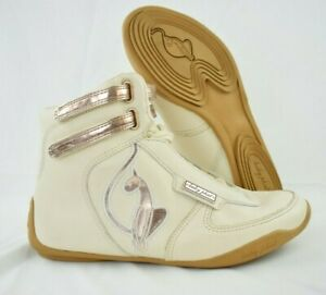 Women's Baby Phat Leather High Top Sneakers Shoes Soles Size 8.5