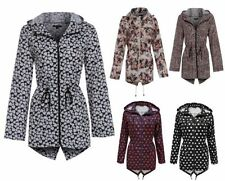 Brave Soul Zip Casual Floral Coats & Jackets for Women
