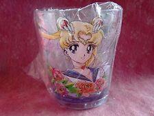 Sailor moon Crystal Acrylic Cup Super Sailor Moon Tumbler Clear Kawaii 20th Rare