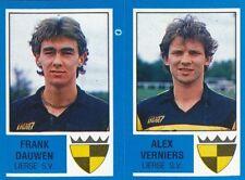 409 FRANK DAUWEN - ALEX VERNIERS BELGIQUE LIERSE.SV STICKER FOOTBALL 87 PANINI