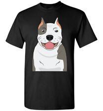 American Pit Bull Terrier Dog Cartoon T-Shirt Tee - Men Women Youth Tank Long