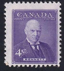 Canada 1955 Prime Minister Bennett, MNH sc#357