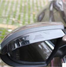Side Door Mirrors Rearview Sun Rain Guard Shield For Kia Sportage R 2010-2015