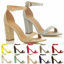 High (3-4.5 in.) Block Evening Shoes Strappy for Women