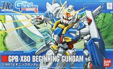 Bandai HG GB 001 GUNDAM GPB-X80 BEGINNING GUNDAM 1/144 Scale Kit 652966