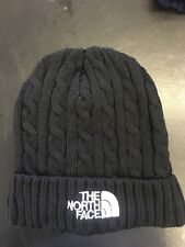 North Face Warm Thermal Insulated Thick Winter Hat Knit Black Beanie Skull Cap
