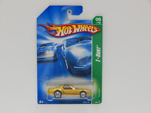 "1:64 Pontiac Firebird ""Hot Bird"" - Hot Wheels 2008 Treasure Hunt Long Card  Hot"