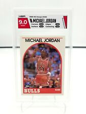 1989-90 Hoops Michael Jordan #200 HGA 9.0 Mint Chicago Bulls GOAT HOF