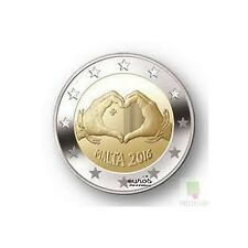 """2 euros commémorative Malte 2016 """"Love"""" - 350 000 exemplaires - Qualité UNC"""