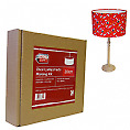 Needcraft Lampshade Kit cover with any fabric or wallpaper 20cm Oval for Pendant