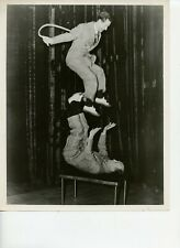 8 X 10 Photo Entertainers Acrobats The Whitson Brothers