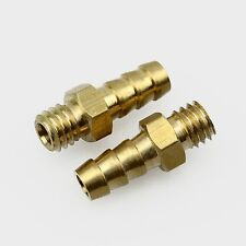 2PC M6 Threaded Water Pickup Nipples Nozzles for RC Boat, OD 5.2mm
