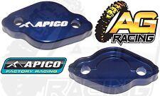Apico Blue Rear Brake Master Cylinder Cover For Yamaha YZ 250 2003-2013 03-13