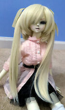 Doll Wig Long Pig Tails Blonde Miku BJD Ball Jointed Size 7, 8, 9, 10 NEW