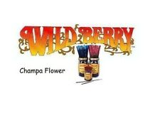 Wild Berry 'Champa Flower' Incense Sticks (pk10) (L38)