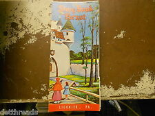Vintage Travel Brochure - STORY BOOK FOREST - Ligonier, PA - 1960s