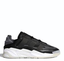 Adidas Para Hombre Originals niteball Tenis Zapatos FV4848 Negro Talla 5-12