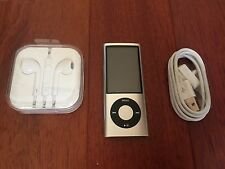 Apple 16GB iPod Nano 5th Generation Silver Camera A1320 Mint Condition