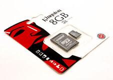 Tarjetas de memoria Kingston microsd clase 4 para teléfonos móviles y PDAs