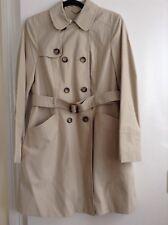 Miss Selfridge Classic Style trench coat size 14
