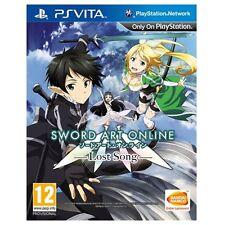 PS Vita Juegos Sword Art Online: Lost Song REGION FREE MULTILANGUAGE