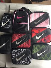 Nike Insulated Lunch Box Tote Black Pink Multi Color New With Tags
