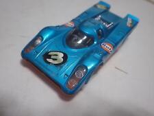 Gama-Mini (Germany) Blue/Orange Porsche 917K (Gulf) Diecast 1:42