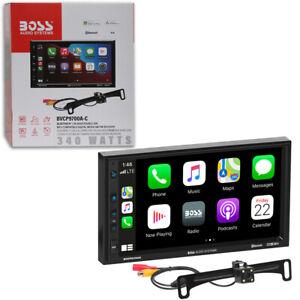 "BOSS 7"" Touchscreen Apple Carplay Car Bluetooth Stereo + Remote Free Rear Camera"