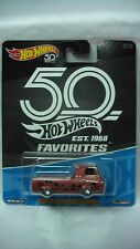 HOT WHEELS 2018 1/64 50 ANN FAVORITES 60'S FORD ECONOLINE PICK UP NEW IN STOCK d