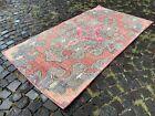 Carpet, Turkish rug, Vintage rug, Handmade rug, Area rug   3,7 x 6,8 ft