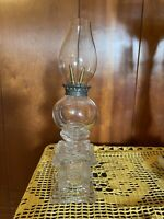 Vary Rare Boston And Sandwitch Glass Whale Oil Lamp