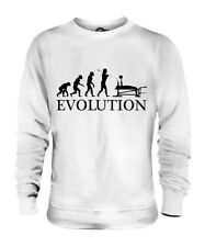 BENCH PRESS EVOLUTION OF MAN UNISEX SWEATER MENS WOMENS LADIES GIFT CLOTHING