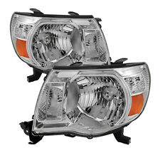 Toyota 05-11 Tacoma Chrome Housing Replacement Headlights Set Base PRE/X-Runner
