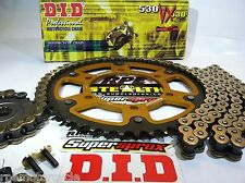 HONDA '08/18 CBR1000rr Quik Accel DID X-Ring 530 SUPERSPROX CHAIN & SPROCKET KIT
