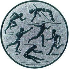 100 große Embleme Leichtathletik neutral (für Medaillen Pokale Medaille Emblem)