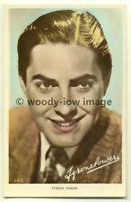 b0886 - Film Actor - Tyrone Power - Art Photo postcard