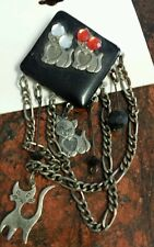 w Hearts Jewelry Pin, Cats