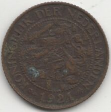 More details for 1924 netherlands 1 cent | key date | pennies2pounds