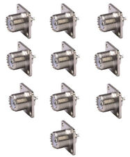 SO-239 Panel Chassis Mount - 10 PACK
