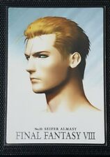 Final Fantasy 8 Rare Triple Triad Perfect Visual Card 35 Seifer TCG Opus VIII XV