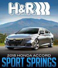 "H&R Sport Springs 1.2"" Drop Front & Rear 2018+ Acord"