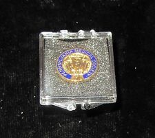 Antiques Pennsylvania Medical Society Pin; Serving Mankinmd; Mint in Box