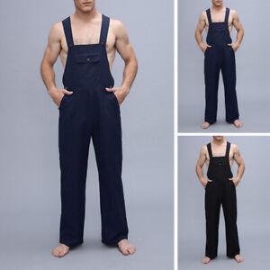 Salopettes pour hommes en coton, pantalons d'entraînement, pantalons d'extérieur