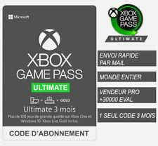 Xbox Game Pass Ultimate 3 Mois / Months / Meses / Mesi / Monate - Envoi rapide