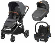 Stroller Maxi-Cosi Adorra Sparkling Grey 3in1 CabrioFix car seat