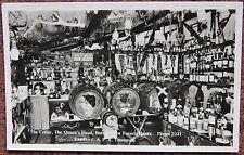Vintage Cellar Queens Head Pub Burley New Forest Advertising Postcard Hampshire