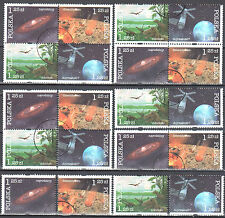 Poland 2004 - History of the Earth - Mi 4162-4165 combination - used