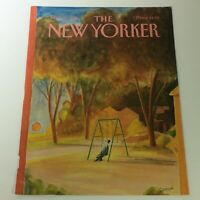 COVER ONLY - The New Yorker Magazine September 5 1985 - Jean-Jacques Sempe
